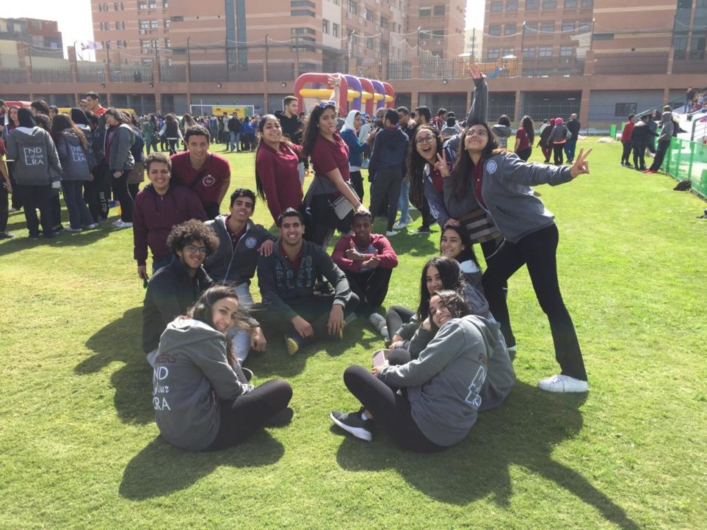 College orientation and winning the third place in the sports day